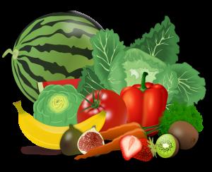 Frukt och grönsaker för ditt välmående